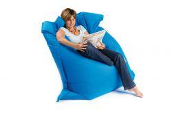 Sit on it electric blue